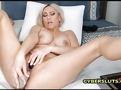 Cool light-haired cougar need some rock hard hard-on