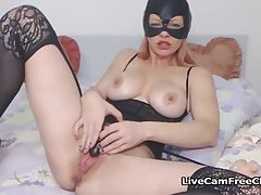 Super-naughty Milf Cat Gal Had a Jiggling Ejaculation From a Plaything