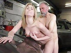 Frances takes advantage of senior goes young guy to land plum job