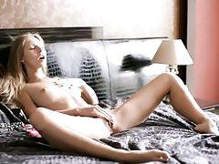 Stunning russian sweetie ash-blonde strokes