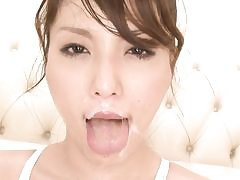 Japanese xxx oral pleasure getting off gang-fuck